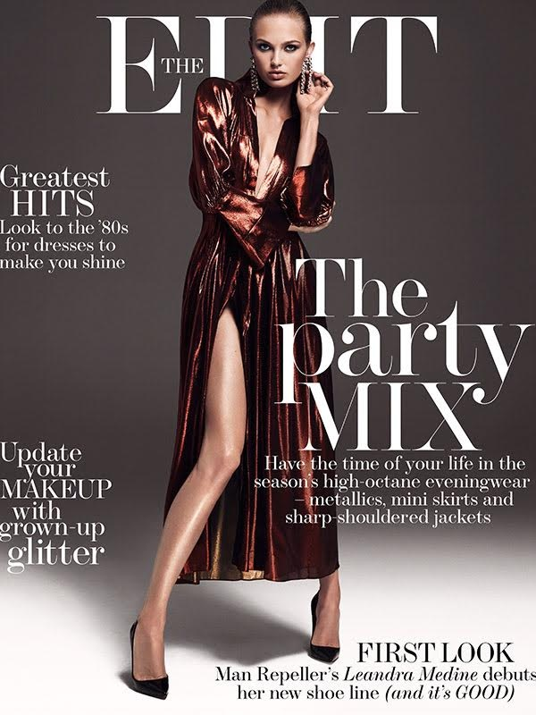 Romee Strijd cover's The Edits October 2016 issue photographed by Bjorn Iooss and styled by Morgan Pilcher.  Model: Romee Strijd  Photographer: Bjorn Iooss Stylist: Morgan Pilcher Hair: Peter Gray  Makeup: Justine Purdue